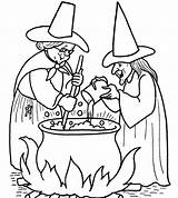 Witch Coloring Wicked Pages Getcolorings Printable sketch template