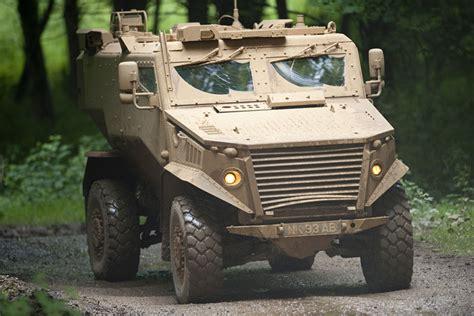 New Foxhound vehicle on display in the UK - GOV.UK