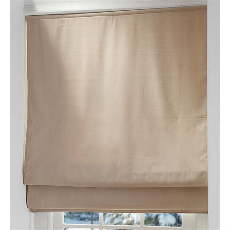 Quilted Duvet Insulated Roman Shades  192318, Curtains At