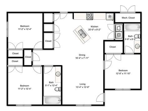 3 bedroom floor plan three bedroom flat floor plan 28 images apartment