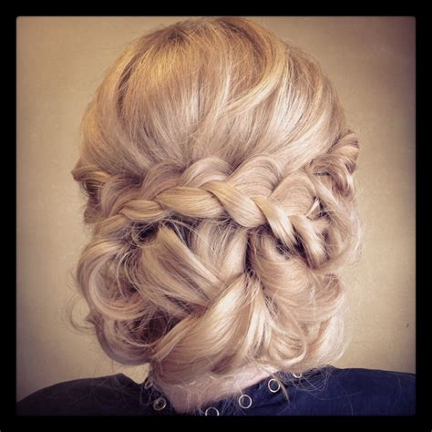 Updo Hairstyles With Braid by Bridal Braid Updo Hair And We Updo