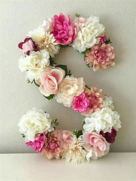 Kitchen Bridal Shower Ideas - ideas de letras decoradas diy