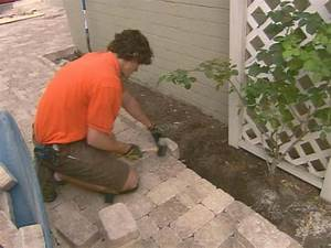 How To Install Concrete Pavers