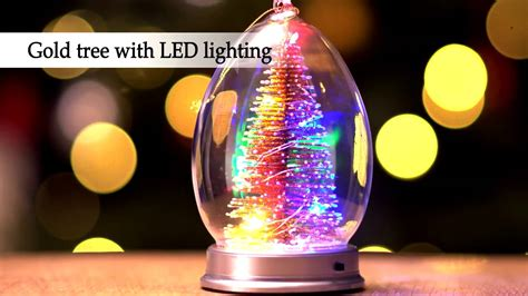 glass light up christmas tree light up glass christmas tree youtube