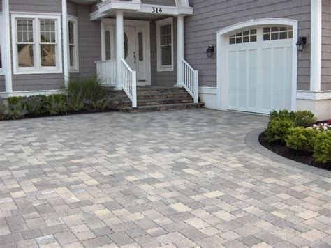 Grey Brick Pavers by Avalon Driveway Pavers Techo Bloc Classique Shale Grey In