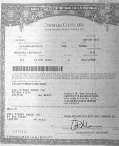 vehicle certificate of origin vehicle ideas With certificate of origin for a vehicle template