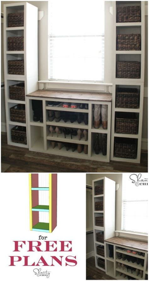 creative diy rustic storage ideas  organize  home