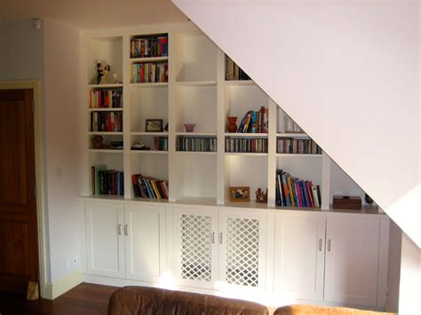 Stairs Shelf Ideas For Book Storage by Stair Storage Ideas For Storage Space