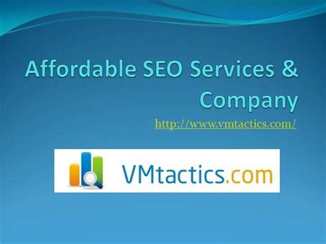 Affordable Seo by Affordable Seo Services Authorstream