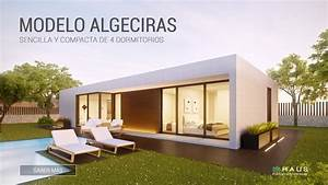 Vivienda prefabricada de diseño modelo Algeciras 4D 1P 2 138 inHAUS