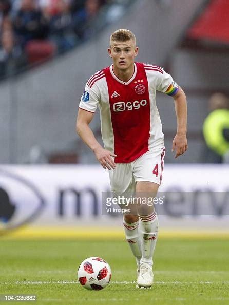 matthijs de ligt  ajax   dutch eredivisie match  news photo getty images
