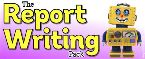 report writing pack