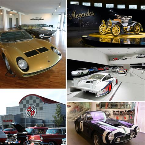 travel bureau car five luxury car museums worth visiting forbes travel