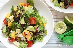 Salat Selber Anbauen : avocado garnelen salat rezept einfach schnell elle republic ~ Markanthonyermac.com Haus und Dekorationen