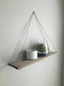ideas  hanging shelves  pinterest wall
