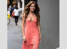 MIC's Binky Felstead Laughs Off Her Cleavage Malfunction