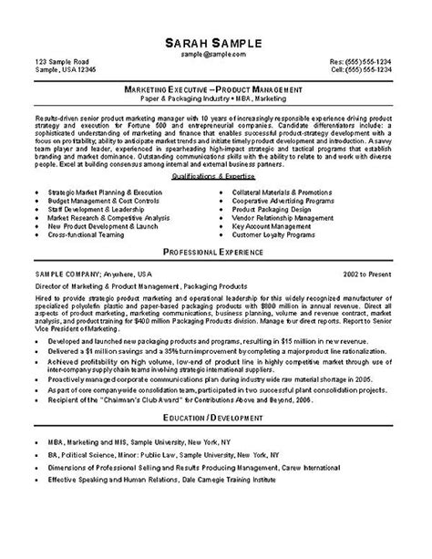 sales and marketing coordinator resume exles marketing manager resume exle
