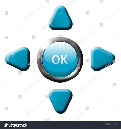 set remote control game phone navigation stock