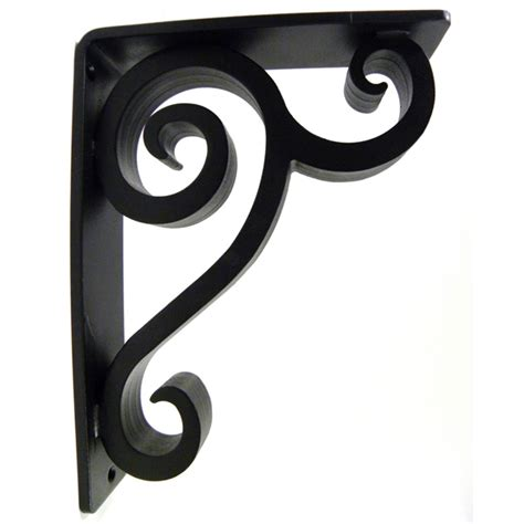 Decorative Metal Corbels by Iron Accents Linley Iron Corbel 2 Quot Li20a