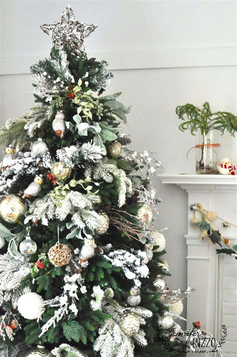 Decorating Trees by Winter Forest Tree And How To A Flocked
