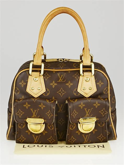 louis vuitton monogram canvas manhattan pm bag yoogis