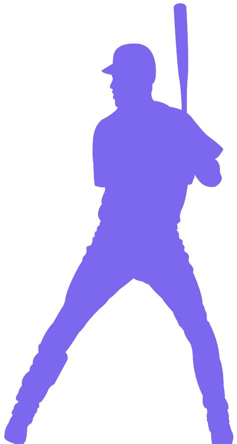 baseball ball silhouette  vector silhouettes