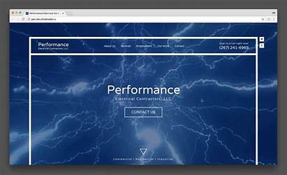 Website Background Web Animation Electrical Line Simple