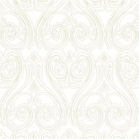 buy belgravia decor kashmir wallpaper white gold