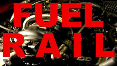 car fuel rail removal  replacement fuel injectors