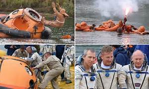 NASA astronauts train for a wet landing ahead of 2018 ...