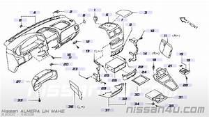 Paneel Dashboard Nissan Almera N16 68246