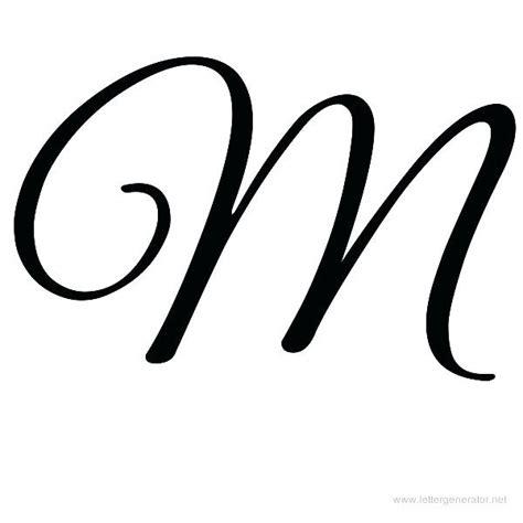 fancy letter m decorative letter m cursive letters 36789