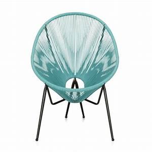 Fauteuil Fil Scoubidou : 1000 idee n over chaise jardin op pinterest chaise ~ Teatrodelosmanantiales.com Idées de Décoration