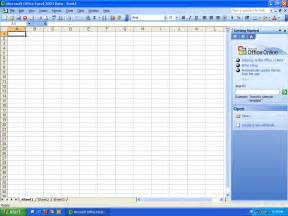 Microsoft Office Excel 2003 Free Download