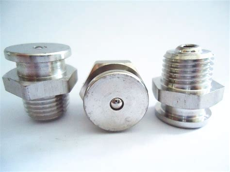 Grease Fitting,npt,unf,special,pin Type,button Head