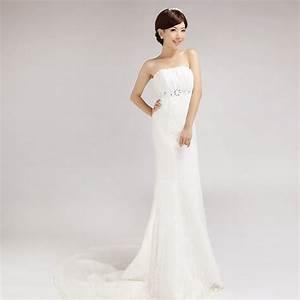 2013 fish tail tube top train wedding dress wedding dress With tube top wedding dress
