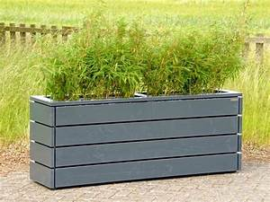 Holz Farbe Anthrazit : pflanzkasten aus holz lang l nge 172 cm h he 68 cm ~ A.2002-acura-tl-radio.info Haus und Dekorationen