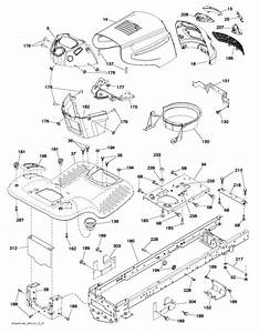 Mcculloch M11577  96041009700  Ride On Mower Chassis