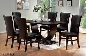 Design Stühle Esszimmer : unglaubliche esszimmer tische modern design atemberaubend aus dunklem holz esszimmer tische und ~ Orissabook.com Haus und Dekorationen