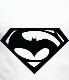 Superman Logo Black and White Clip Art