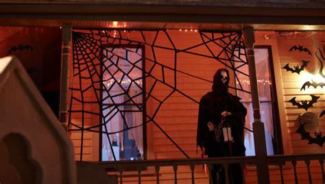 giant halloween spiderwebs