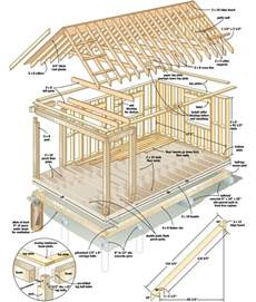 building plans for cabins free plans build your own cabin for 4 000 tiny