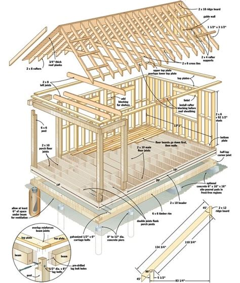 cabin building plans free free plans build your own cabin for 4 000 tiny