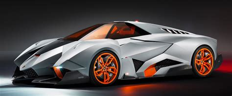 lamborghini egoista concept single seater supercar