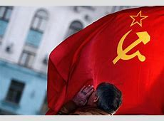After the Vote Crimeans Raise Soviet Flag NBC News
