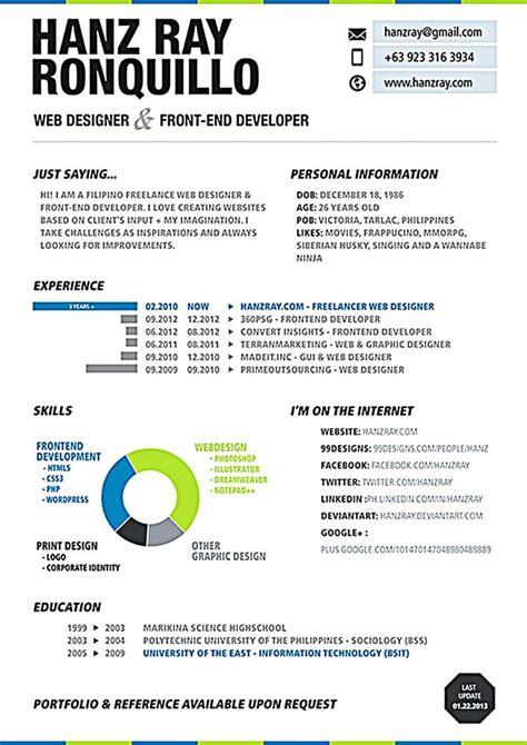 Web Design Resume by Best 25 Web Designer Resume Ideas On