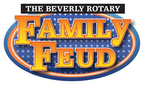 Family Feud Template Family Feud Logo Template Www Imgkid The Image Kid