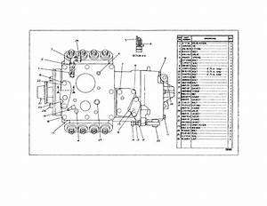 Caterpillar 3208 Industrial Engine