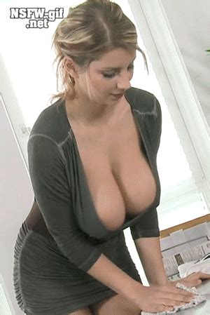Huge Tits Riding Dildo Solo