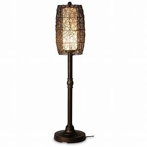 patio living concepts 68277 bristol 58 in outdoor floor With outdoor lantern floor lamp